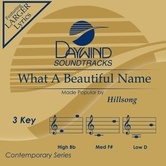 What A Beautiful Name, Accompaniment Track, As Made Popular by Hillsong, CD