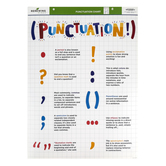 Renewing Minds, Classroom Punctuation Marks Explained Chart, 17 x 22 Inches, Multi-Colored, 1 Each