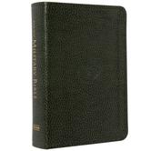 KJV Military Bible, Large Print, Compact Edition, Imitation Leather, Green