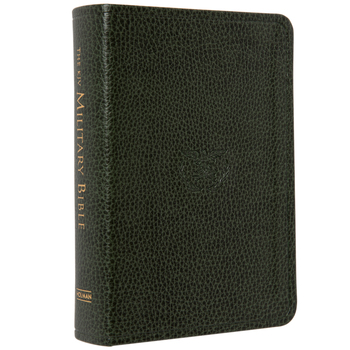 KJV Military Bible, Large Print, Compact Edition, Imitation Leather, Green
