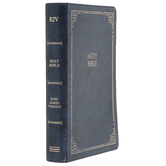 KJV Large Print Personal Size Reference Bible, Imitation Leather, Multiple Colors, Thumb Indexed