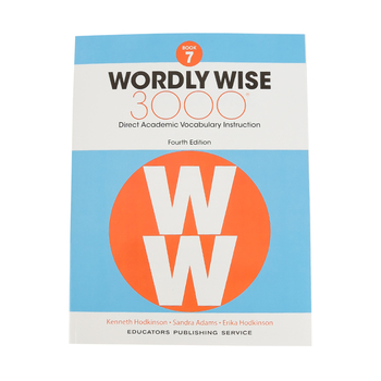 Wordly Wise 3000 4th Edition Student Book 7, Paperback, Grade 7
