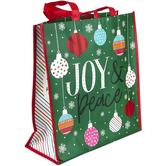 Renewing Faith, Joy & Peace Large Tote Bag, 15 x 6 x 14 inches