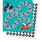 Carson Dellosa, Hot Diggity Dogs Mini Incentive Charts with Stickers, 4.75 x 7 Inches, 660 Pieces