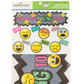 Pop Mania Collection, How Are You Feeling Today Mini Bulletin Board Set, Multi-Colored, 7 Pieces