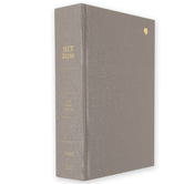 NET Bible, Full Notes Edition, Hardcover, Gray