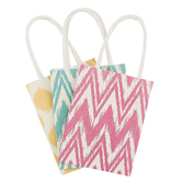 the Paper Studio, Sacks-N-Things, Brighter Design Craft Mini Bags, 2 x 3 x 4 inches, Set of 6 Bags