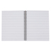 Pacon, Music Staff Paper, Spiral-bound Notebook, 96 Sheets, 8 1/2 x 11 inches