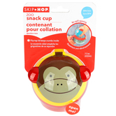 Skip Hop, Marshall Monkey Snack Cup, Ages 12 Months and Older, 7 1/2 ounces