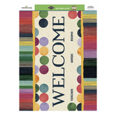 Color Me Brilliant Collection, Welcome Chart, 22 x 17 Inches, Multi-Colored, 1 Piece
