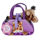 Aurora, Fancy Pals, Peek-A-Boo Giraffe Stuffed Animal, 7 inches