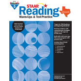 Newmark Learning, STAAR Reading Warm-Up and Test Practice: Grade 5, Paperback, 144 Pages