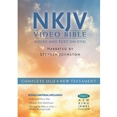 NKJV Video Bible, Read by Stephen Johnson, DVD