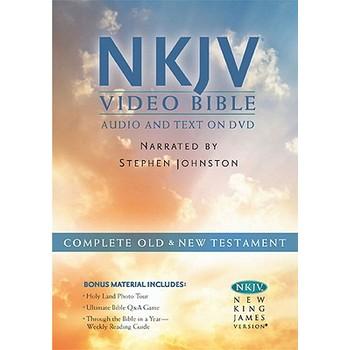 NKJV Video Bible, Read by Stephen Johnson, DVD