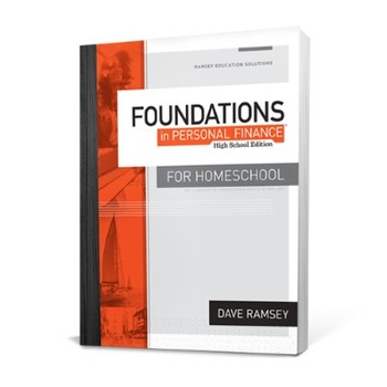 Foundations in Personal Finance High School, Homeschool Student Text, by Dave Ramsey, Grades 8-12