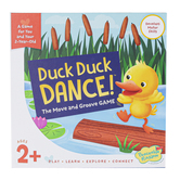 Peaceable Kingdom, Duck Duck Dance: The Move & Groove Game, 2 Players, Ages 2 & Older