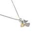 H.J. Sherman, Cubic Zirconia Angel Pendant Necklace, Sterling Silver, 18 inches