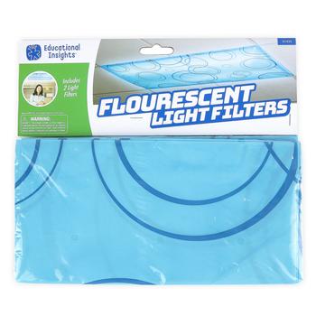 Educational Insights, Fluorescent Light Filters, Patterned, Grades PreK-12, Set of 2