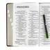 NIV Reference Bible, Giant Print, Imitation Leather, Burgundy, Thumb Indexed