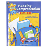 Teacher Created Resources, Reading Comprehension Practice Makes Perfect Workbook, 48 Pages, Grade 3