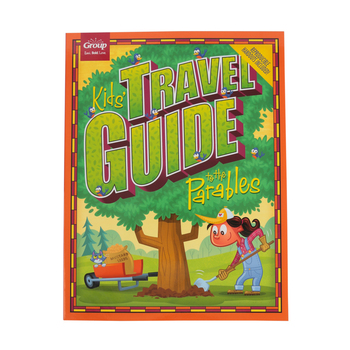 Group Publishing, Kids' Travel Guide to the Parables Resource, 13 Lessons, 117 Pages, Grades K-5