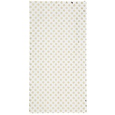 Brother Sister Design Studio, Tissue Paper, White with Gold Foil Dots, 20 x 20 inches, 5 Sheets