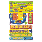 Teacher Created Resources, Be Amazing Bulletin Board Set, 47 Pieces