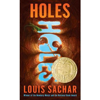 Holes, by Louis Sachar, Grades 5-12