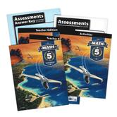 BJU Press, Math 5 Complete Subject Kit, 4th Edition, Box Set, Grade 5