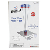 Dowling Magnets, Wave Wires Magnet Set, 19 Pieces, Ages 8 to 14