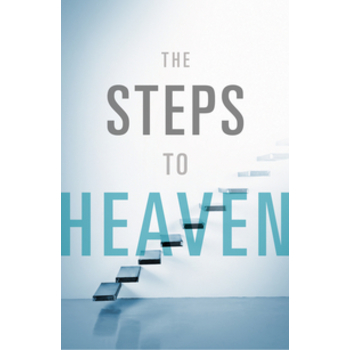 Good News Tracts, The Steps to Heaven, Set of 25 Tracts