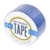 Blue Art Project Tape, 1 7/8 inches x 20 yards, 1 Roll