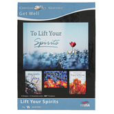 Warner Press, Lift Your Spirits Get Well Boxed Cards, 12 Cards with Envelopes