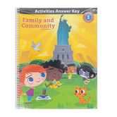 BJU Press, Heritage Studies 1 Student Activity Manual Answer Key, 4th Edition, Grade 1
