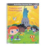 BJU Press Heritage Studies 1 Activity Manual Answer Key 3rd Ed Grade 1