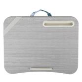LapGear®, Designer Lap Desk, Gray & Teal Medallion Design, 17 3/4 x 13 3/4 inches