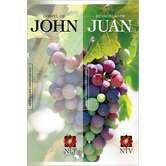 NLT NTV Gospel of John Spanish-English Bilingual Parallel, Paperback