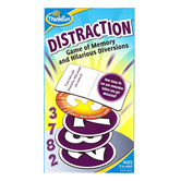 ThinkFun, Distraction: Card Game of Memory & Hilarious Diversions, Ages 8 & Older, 2 Or More Players