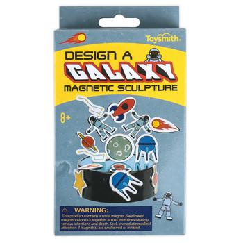Toysmith, Design A Galaxy Magnetic Sculpture, 33 Pieces