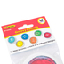 Edupress, Pete the Cat Groovy Buttons Mini Accent Cutouts, Multi-colored, 2.62 Inches, 36 Pieces