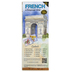 Bilingual Books, FRENCH Language Map, Quick Reference Guide, Laminated and Folded