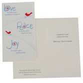 DaySpring, Romans 5:13 Love Peace Joy Christmas Boxed Cards, 16 Cards & Envelopes