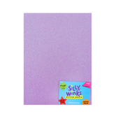 Silly Winks, Pastel Glitter Foam Sheet Pack, 9 x 12 inches, 6 count