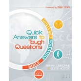 Quick Answers to Tough Questions, by Bryan Osborne and Bodie Hodge, Paperback