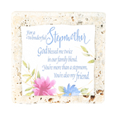 Product Concept Manufacturing, For A Wonderful Stepmother Tile Plaque, 4 x 4 inches