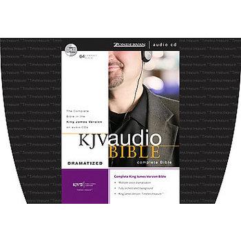 KJV Complete Dramatized Audio Bible, 64 CDs