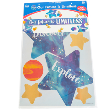 Carson-Dellosa, Our Future Is Limitless Motivational Bulletin Board Set, 28 Pieces