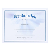 Warner Press, Graduation Certificates and Envelopes, 8 1/2 x 11 inches, Set of 6