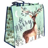 Renewing Faith, Romans 15:13 Be Merry Jumbo Tote Bag