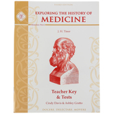 Memoria Press, Exploring The History of Medicine Teacher Key and Tests, Paperback, Grades 5-8